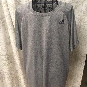 2 adidas dri fit shirts
